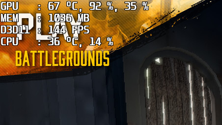PUBG】ゲーム画面にFPS(フレームレート)を表示させる方法 | のしろぐ