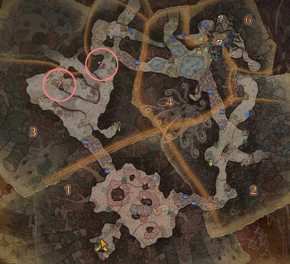 【マップ】ツボ貝の場所2