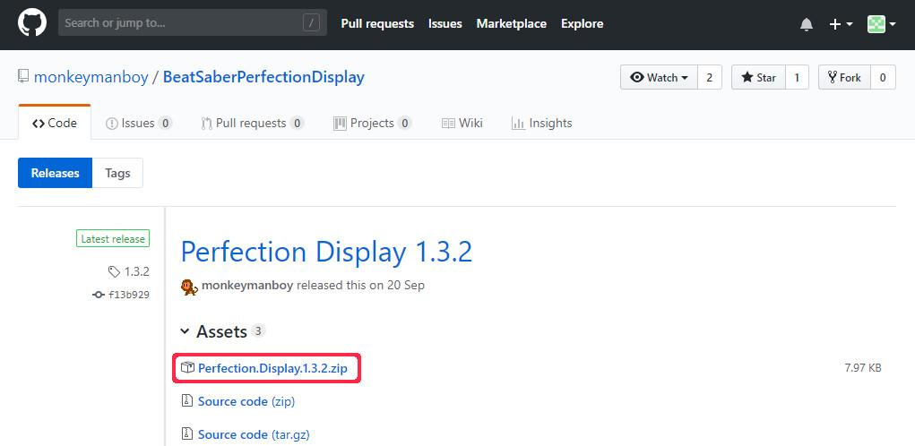 Perfection Displayのダウンロード